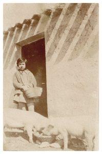 Foto antiguas gorrineras